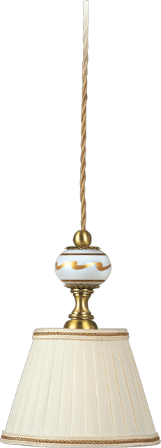 HANGING LIGHT WITH LAMPSHADE 5167