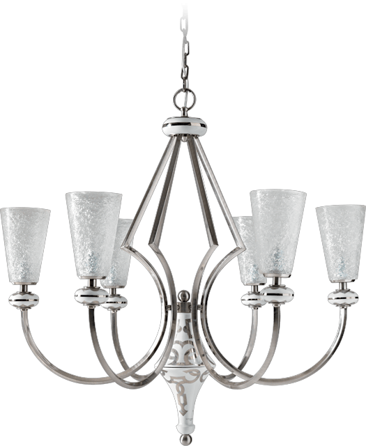 6 LIGHTS CHANDELIER 5559/6/BP
