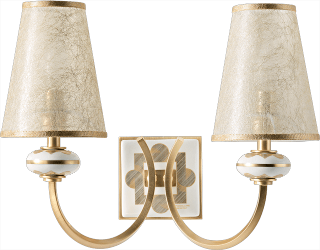 2 LIGHTS WALL LAMP 5560/2/BO