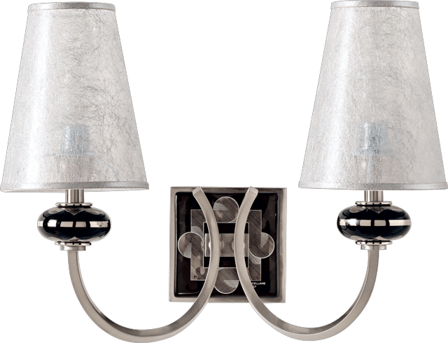 2 LIGHTS WALL LAMP 5560/2/NP