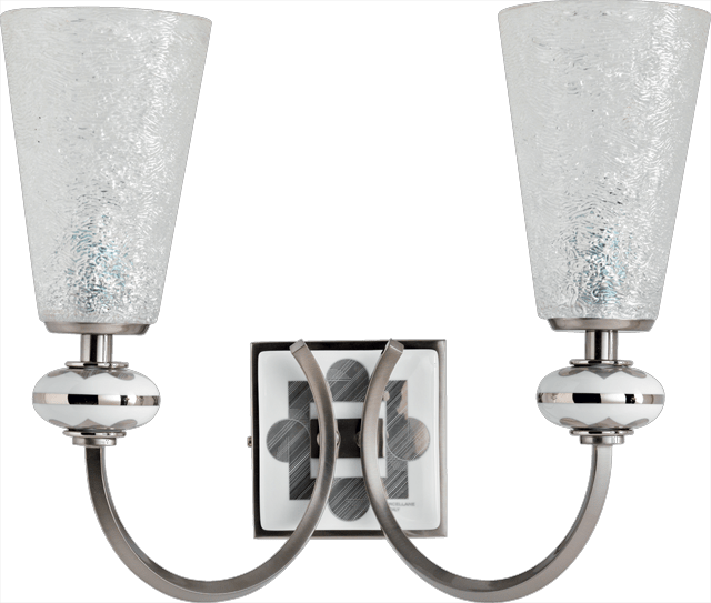2 LIGHTS WALL LAMP 5561/2/BP