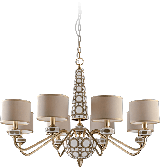 8 LIGHTS CHANDELIER 5670/8/S