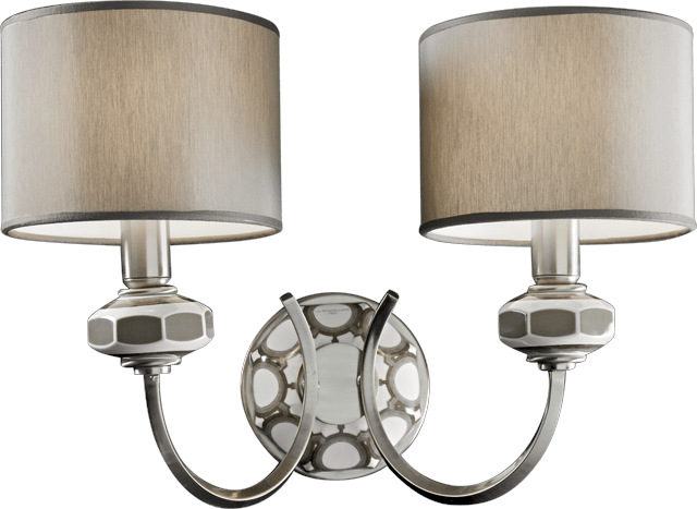 2 LIGHTS WALL LAMP 5674/T 2L
