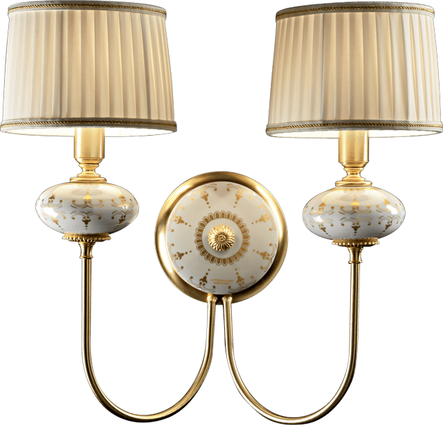 2 LIGHTS WALL LAMP 5716/2