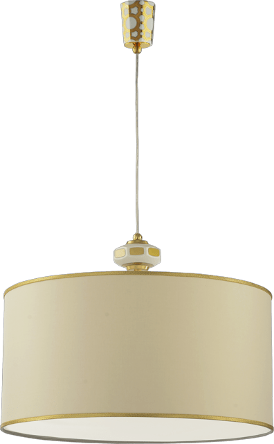 HANGING LIGHT WITH LAMPSHADE 5826/PO