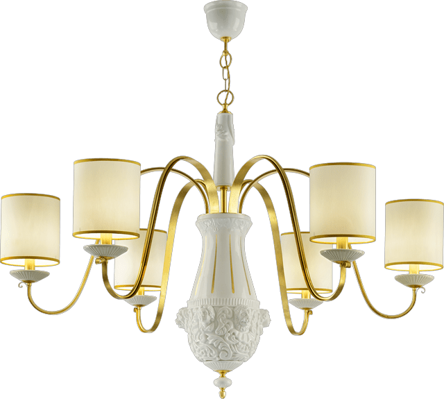 6 LIGHTS CHANDELIER 5840 6/L