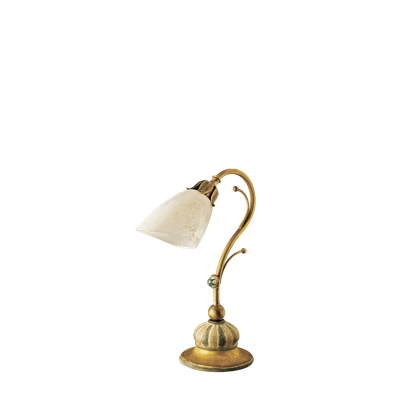 BEDSIDE LAMP WITH GLASS DIFFUSERS