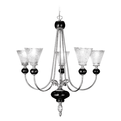 5 LIGHTS CHANDELIER