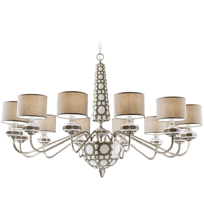12 LIGHTS CHANDELIER