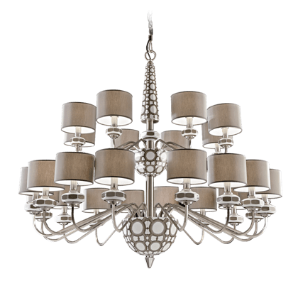 24 LIGHTS CHANDELIER