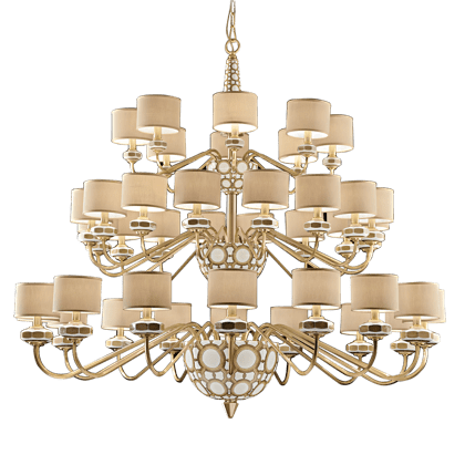 40 LIGHTS CHANDELIER