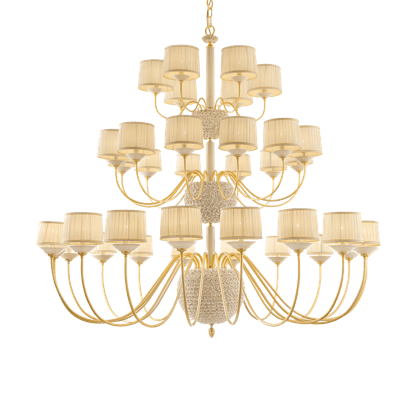 36 LIGHTS CHANDELIER