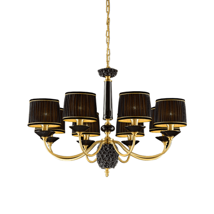 8 LIGHTS CHANDELIER