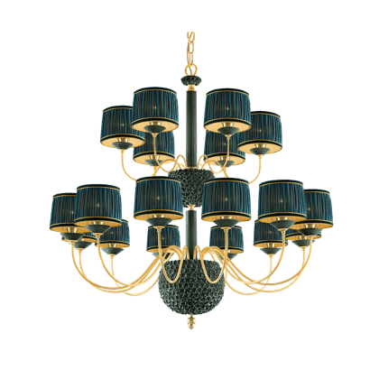 18 LIGHTS CHANDELIER