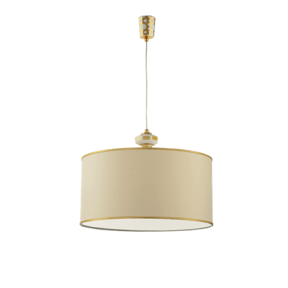 HANGING LIGHT WITH LAMPSHADE